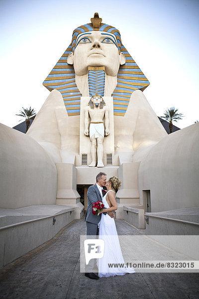 Brautpaar in Las Vegas  USA