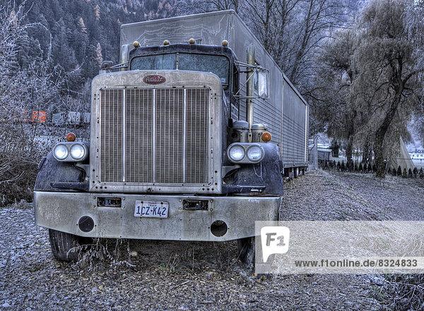 Ausrangierter amerikanischer Truck