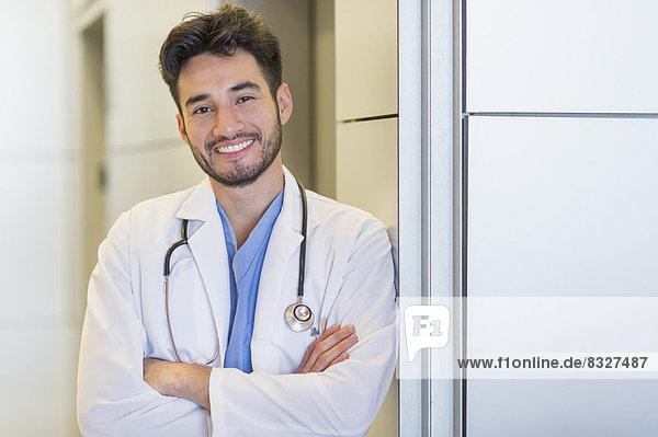 Portrait eines Arztes in einem Krankenhaus