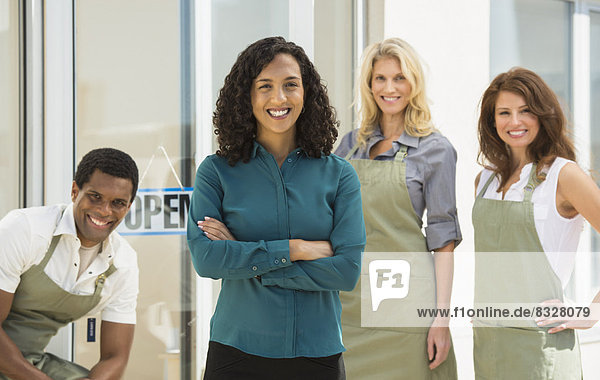 Portrait  lächeln  arbeiten  Inhaber  Business