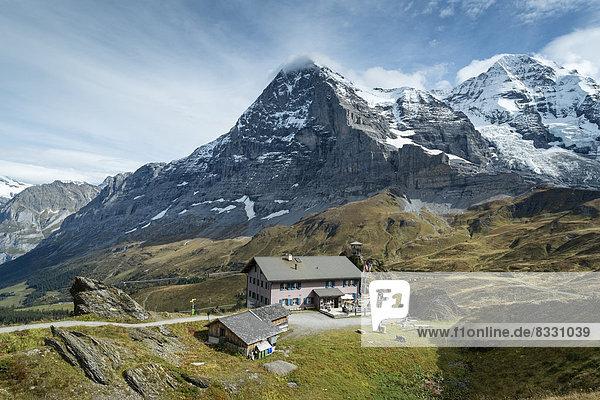 Schweiz  Kanton Bern  Region Jungfrau  Eiger  Berggasthof