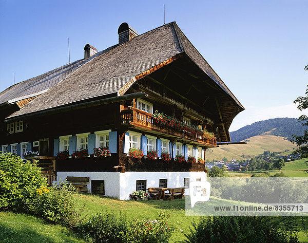 Baden-Württemberg Bernau Schwarzwald Deutschland