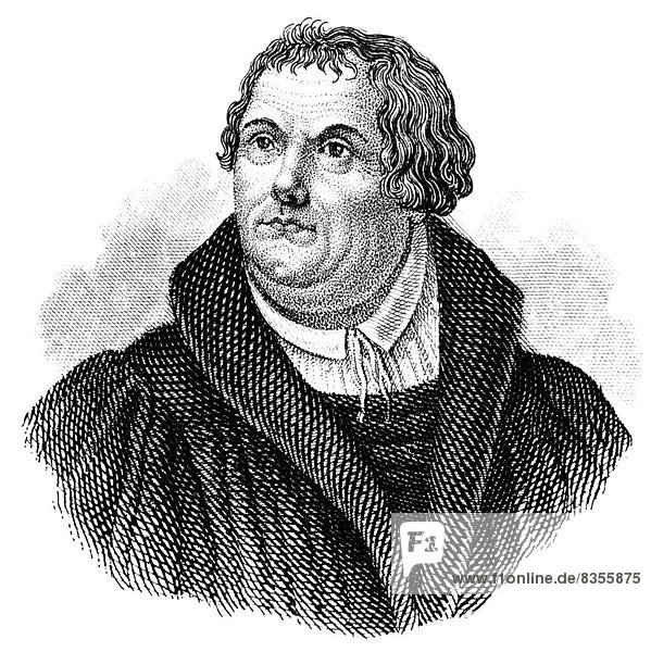 Martin Luther  1483 - 1546  theologian and reformer