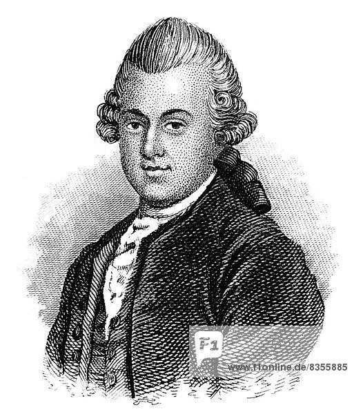 Gotthold Ephraim Lessing  1729 - 1781  Philosoph und Dichter der deutschen Aufklärung
