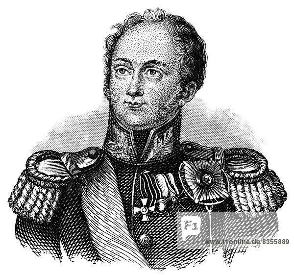 Alexander I.  1777 - 1825  Kaiser von Russland