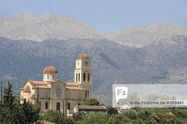 Griechisch-orthodoxe Ortskirche  Kalamitsi Alexandrou  Kreta  Griechenland