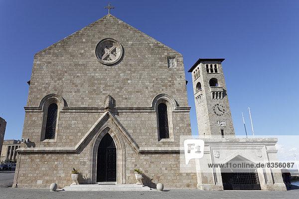 Evangelismos-Kirche  Neustadt  Rhodos  Insel Rhodos  Dodekanes  Griechenland