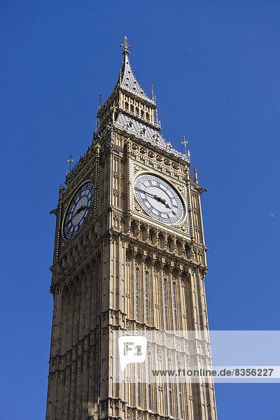 Big Ben or Elizabeth Tower  UNESCO World Heritage Site  London  London region  England  United Kingdom
