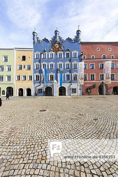Bayern Burghausen Deutschland Oberbayern