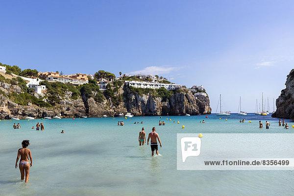 Balearen Balearische Inseln Menorca Spanien