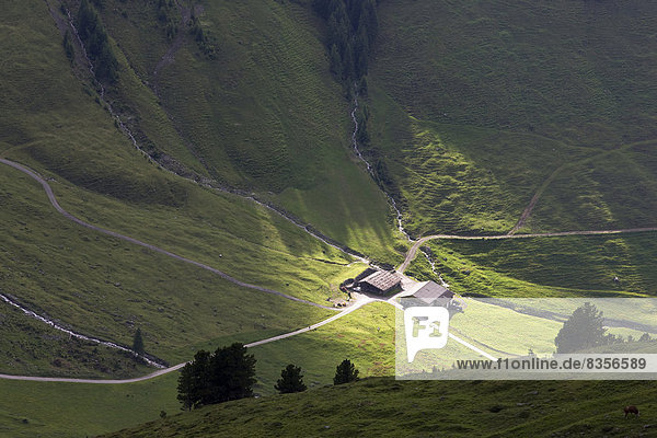 Abend Beleuchtung Licht Österreich Tirol