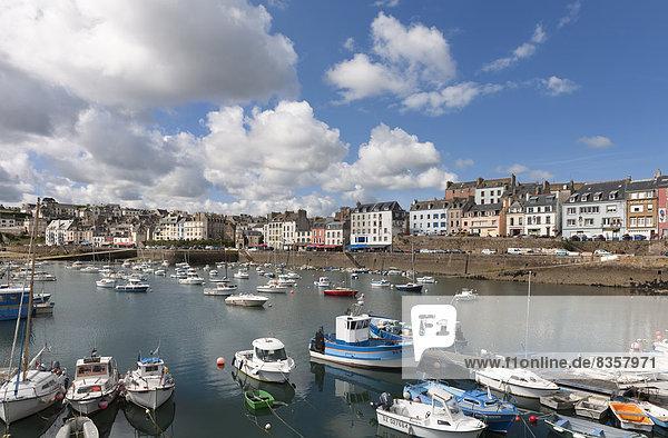 Frankreich  Bretagne  Hafen von Douarnenez