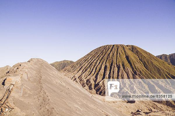Indonesia  Java  Bromo Tengger Semeru National Park  Tengger Massif  Mount Bromo