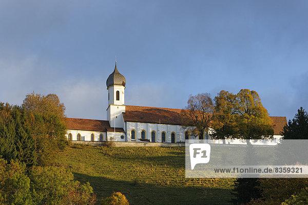 Deutschland  Oberbayern  Hohenpeissenberg  Wallfahrtskirche der Übernahme
