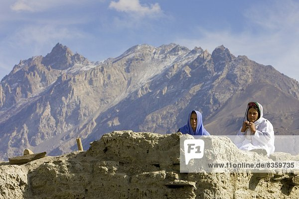 Frau  Berg  Dorf  Geographie  Pakistan