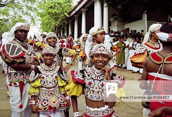 Colombo  Hauptstadt  Tradition  Tänzer  Sri Lanka