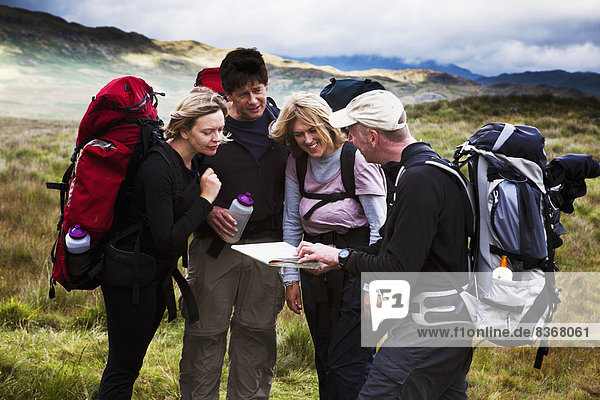 Hikers Consulting Ordinance Survey Map Western Lake District  Cumbria  England  Uk