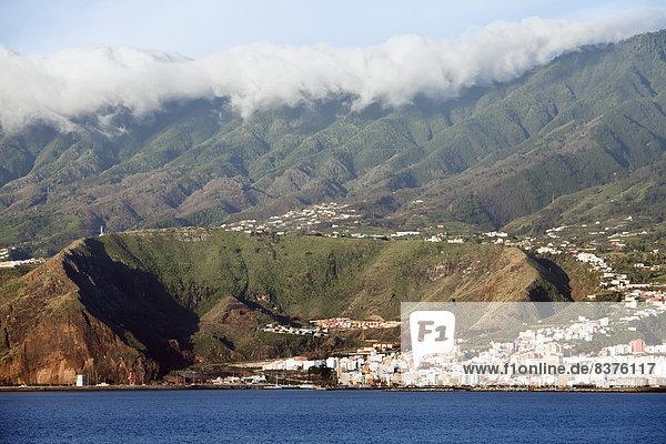 Städtisches Motiv Städtische Motive Straßenszene Straßenszene Vulkan expandieren Krater Gran Canaria Spanien