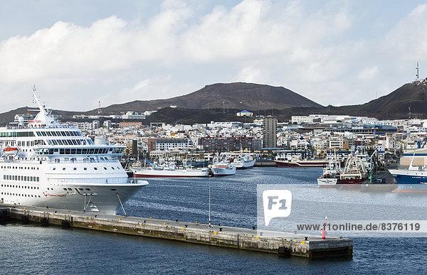 Hafen  Boot  Schiff  Gran Canaria  Spanien