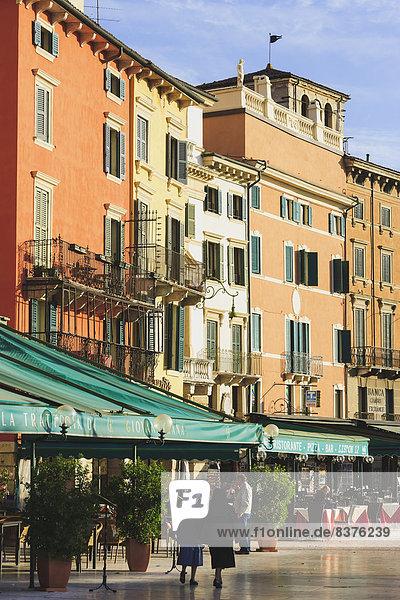 Italien  Piazza Bra  Verona