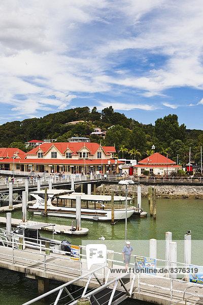 Hafen  Gebäude  Ufer  Boot  Neuseeland