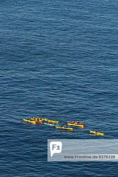 Strand Kathedrale Kajak Gewölbe Neuseeland