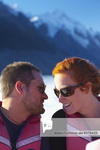 nehmen  Reise  See  Boot  Koch  Berg  Moment  Neuseeland