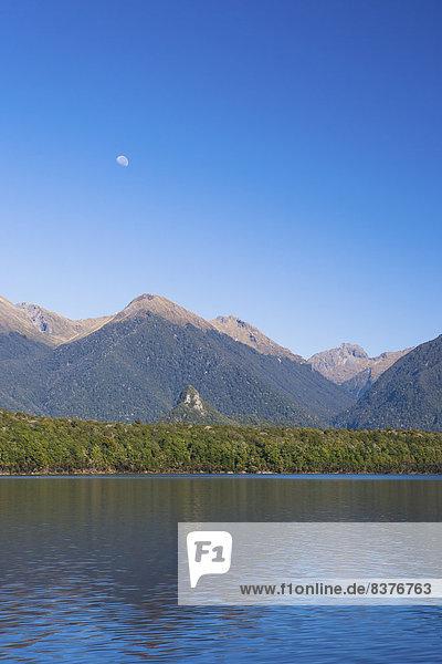 Berg  Küste  See  Neuseeland