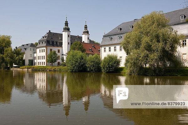 Deutsches Landwirtschaftsmuseum  Schloss Blankenhain  bei Crimmitschau  Sachsen  Deutschland