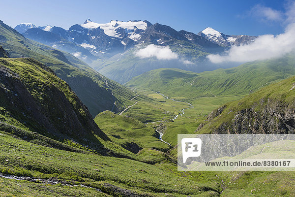 Landschaft im Nationalpark Vanoise  Département Savoie  Region Rhône-Alpes  Frankreich