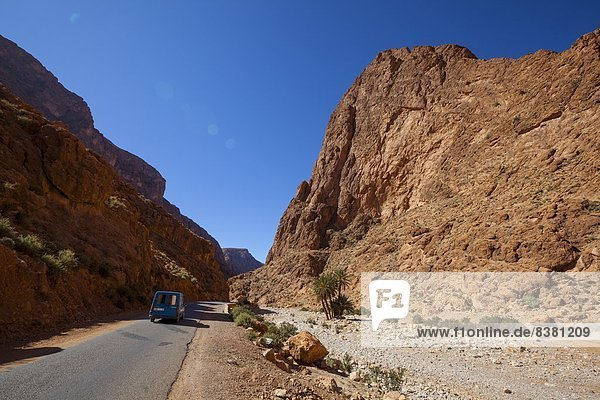 Todra Gorge  Morocco  North Africa  Africa