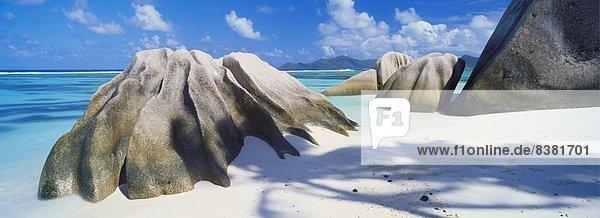 Anse Source d ' Argent  La Digue  Seychellen  Afrika