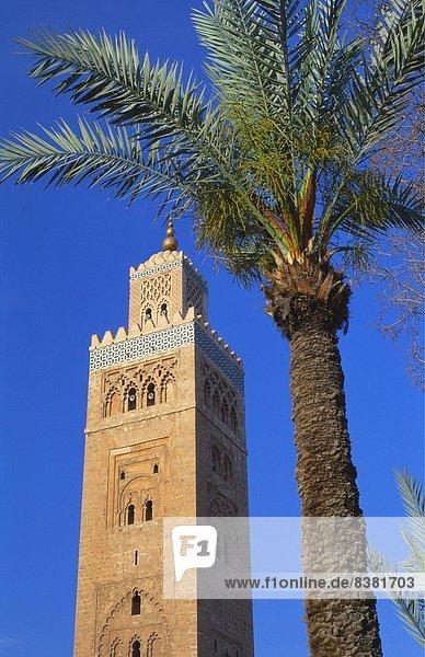 Koutoubia-Moschee  Marrakesch  Marokko