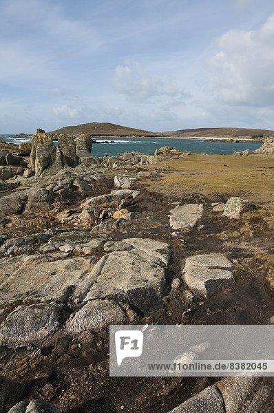 Bryer  Inseln von Scilly  Vereinigtes Königreich  Europa