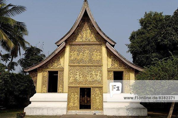 Gebäude  Monarchie  Begräbnis  Südostasien  UNESCO-Welterbe  Vietnam  Asien  Kapelle  Laos  Luang Prabang