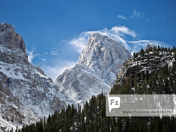 Berggipfel  Gipfel  Spitze  Spitzen  Wind  Ehrfurcht  Büfett