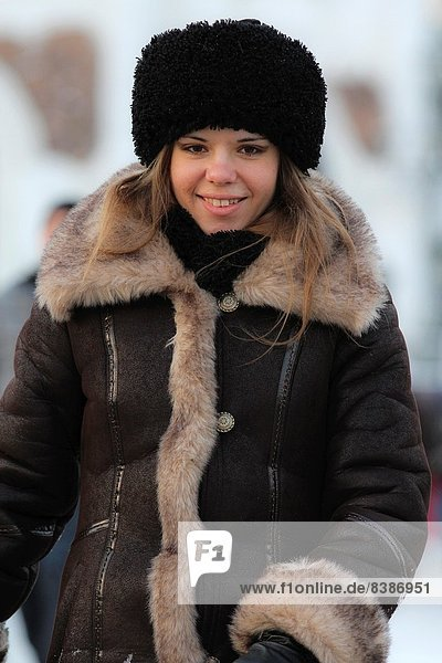 Moskau  Hauptstadt  Russland
