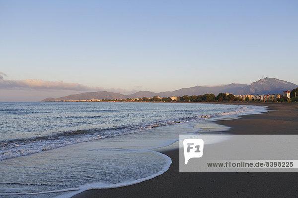 Strand Morgen früh Anamur Ortsteil Türkei