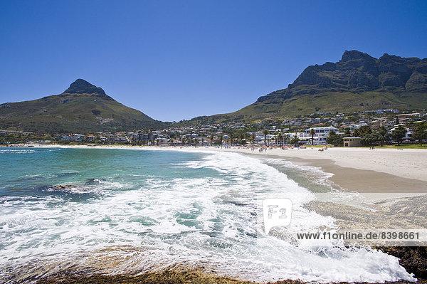 Südliches Afrika Südafrika Strand camping Bucht