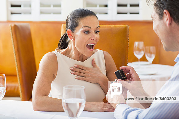 Mann  Freundin  Restaurant