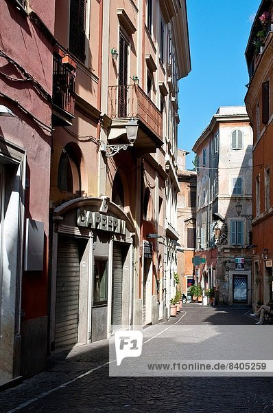 Straße Stadt Latium Italien schmal alt Tivoli