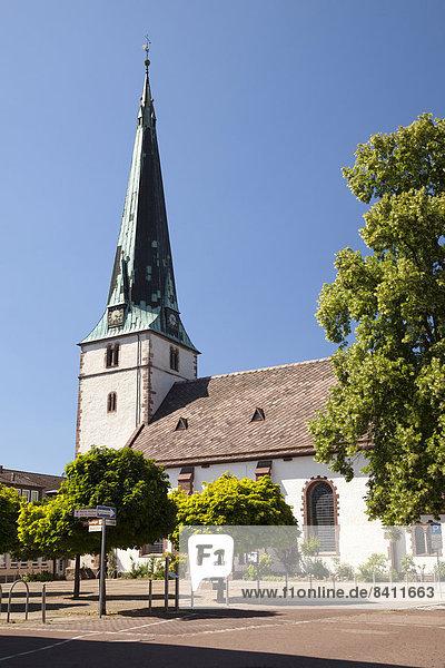 Luther-Kirche  Holzminden  Weserbergland  Niedersachsen  Deutschland