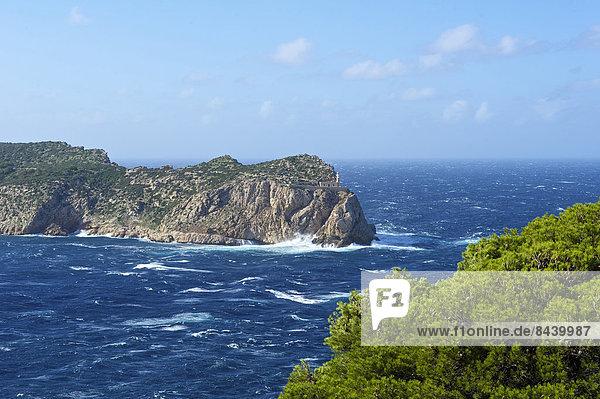 Außenaufnahme Landschaftlich schön landschaftlich reizvoll Europa Landschaft Küste niemand Meer Natur Insel Balearen Balearische Inseln Mallorca Mittelmeer Sa Dragonera Spanien