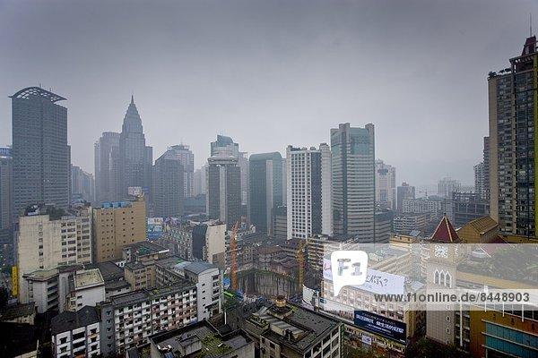 Skyline  Skylines  Ostasien  Fernsehen  China  Perle  Shanghai