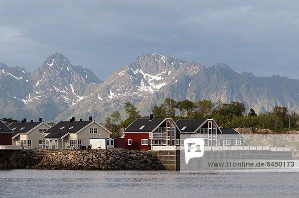 Europa  Norwegen  Skandinavien  Svolvaer