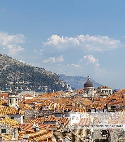 Europa  UNESCO-Welterbe  Kroatien  Dalmatien  Dubrovnik
