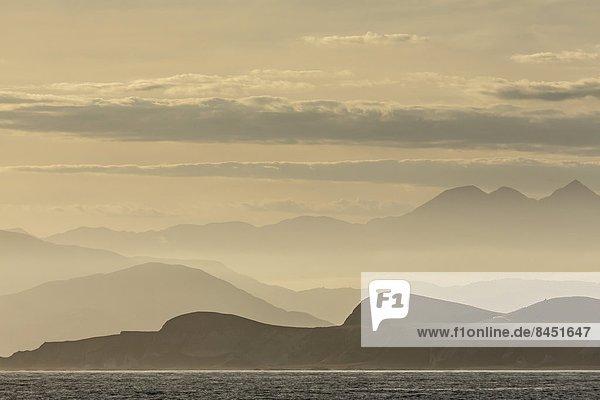 Pazifischer Ozean  Pazifik  Stiller Ozean  Großer Ozean  neuseeländische Südinsel  Neuseeland