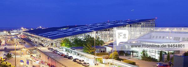 Flughafen Stuttgart  Stuttgart  Baden-Württemberg  Deutschland