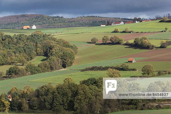 Herbstlandschaft Deutschland Hessen