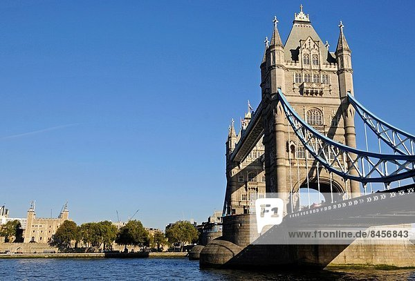 London  Hauptstadt  Brücke  Fluss  Themse  England